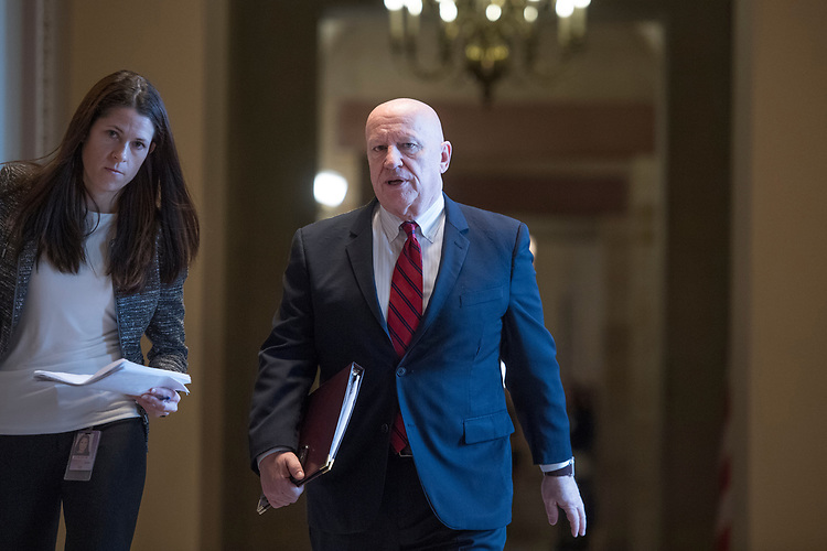 UNITED STATES - MARCH 14: Rep. Kevin Brady, R-Texas, makes his way to the Republican Senate Policy luncheons in the Capitol, March 14, 2017. (Photo By Tom Williams/CQ Roll Call)