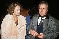 Maximilian Schell & wife 1983<br /> Photo By John BarrettPHOTOlink.net