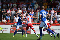 Alex Revell of Stevenage during Stevenage vs Tranmere Rovers, Sky Bet EFL League 2 Football at the Lamex Stadium on 4th August 2018