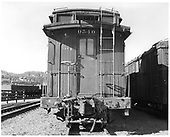 D&amp;RGW long caboose #0540 in Durango.<br /> D&amp;RGW  Durango, CO  Taken by Payne, Andy M. - 11/1/1970