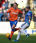 23.12.2018 St Johnstone v Rangers: Lee Wallace and Richard Foster