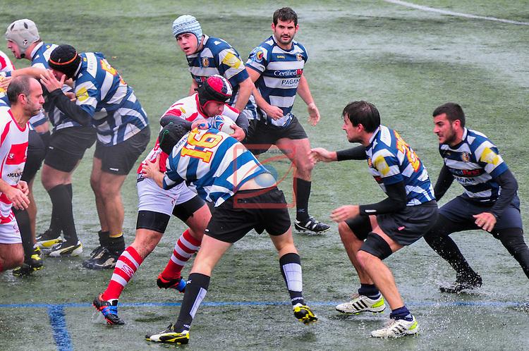 Partit de 2a Catalana de Rugby - Manresa RC vs Spartans Granollers 7-14