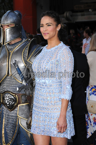 """06 June 2016 - Hollywood, California - Paula Patton. Arrivals for the Premiere Of Legendary Pictures and Universal Pictures' """"Warcraft"""" held at the TCL Chinese Theater IMAX. Photo Credit: Birdie Thompson/AdMedia"""
