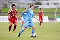 Rebecca Moros (Sky Blue), .MARCH 24, 2012 - Football / Soccer : .Pre-season match between INAC Kobe Leonessa and Sky Blue FC at Okinawa Comprehensive Athletic Park in okinawa, Japan. (Photo by AFLO)