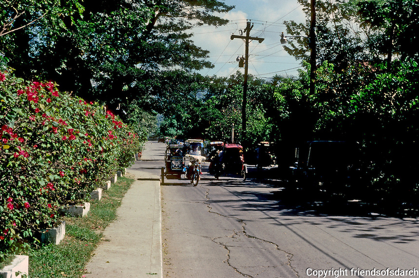 Philippines: Agoo--Side street traffic. Photo '82.