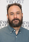 "Greg Keller attends the photo call for the Vineyard Theatre production of ""Do You Feel Anger?"" at the Vineyard Theater Rehearsal studio Theatre on February 14, 2019 in New York City."