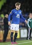 Luke Garbutt of Everton - UEFA Europa League Round of 32 Second Leg - Everton vs Young Boys - Goodison Park Stadium - Liverpool - England - 26th February 2015 - Picture Simon Bellis/Sportimage