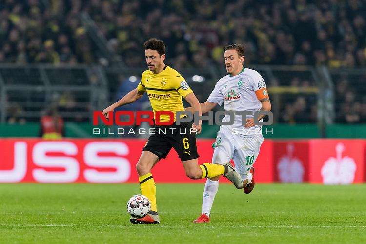 05.02.2019, Signal Iduna Park, Dortmund, GER, DFB-Pokal, Achtelfinale, Borussia Dortmund vs Werder Bremen<br /> <br /> DFB REGULATIONS PROHIBIT ANY USE OF PHOTOGRAPHS AS IMAGE SEQUENCES AND/OR QUASI-VIDEO.<br /> <br /> im Bild / picture shows<br /> <br /> <br /> Foto © nordphoto / Ewert