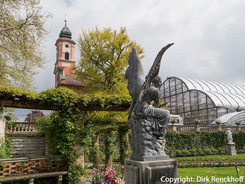 Brunnen, Bodensee - Insel Mainau, Baden-W&uuml;rttemberg, Deutschland, Europa<br /> Fountain, Isle of Mainau, Lake Constance, Baden-W&uuml;rttemberg, Germany, Europe