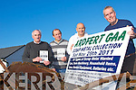 ANY OLD IRON: Joe Wallace chairman of Ardfert GAA club with Philip Healy, Mike Shanahan and Brendan Griffin who will be holding the Ardfert GAA Scrap Metal Collection on Saturday November the 26th at the Ardfert Church carpark between 9:00am & 4:00pm.