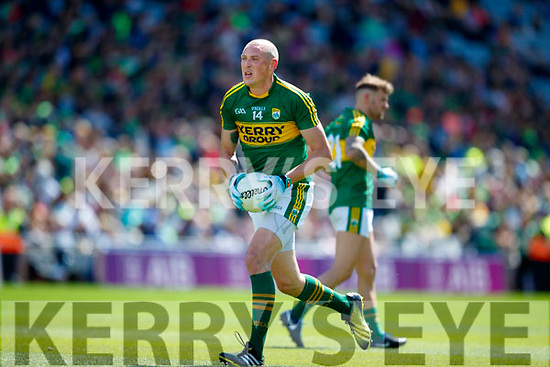 Kieran Donaghy Kerry in action against  Galway in the All Ireland Senior Football Quarter Final at Croke Park on Sunday.