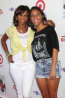 CULVER CITY, CA - AUGUST 12:  Holly Robinson Peete and Ryan Elizabeth Peete at the 3rd Annual My Brother Charlie Family Fun Festival at Culver Studios on August 12, 2012 in Culver City, California.  Credit: mpi26/MediaPunch Inc.