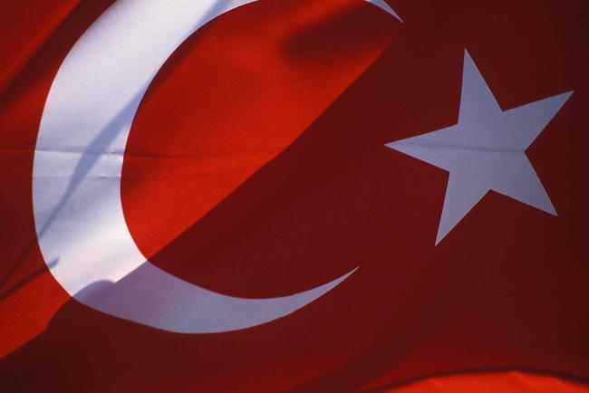Le drapeau turc. *** The turkish flag.