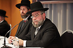 10.11.2013, Berlin. Hotel Holiday Inn West. Eröffnung der Conference of European Rabbis (CER). Rabbi Pinchas Goldschmidt