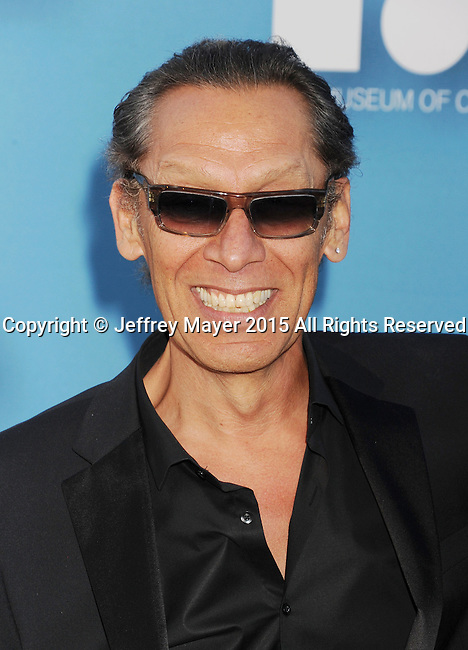 LOS ANGELES, CA - MAY 30:  Musician Alex Van Halen arrives at the 2015 MOCA Gala presented by Louis Vuitton at The Geffen Contemporary at MOCA on May 30, 2015 in Los Angeles, California.