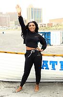 10 September 2018 - Atlantic City, NJ- Miss America 2019 Nia Franklin.  Miss America 2019 Toe Dip at Atlantic City Beach.  <br /> CAP/ADM/MJT<br /> &copy; MJT/ADM/Capital Pictures
