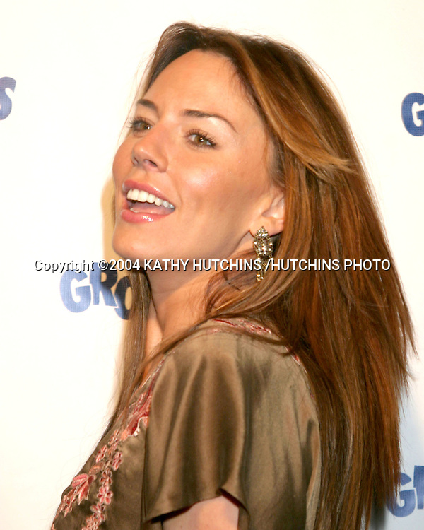 "©2004 KATHY HUTCHINS /HUTCHINS PHOTO.30TH ANNIVERSARY OF ""THE GROUNDLINGS"".HENRY FONDA THEATER.Los Angeles, CA.OCTOBER 5, 2004..KRISTA ALLEN"