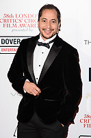 Nick Lavelle at the 38th Annual London Critics' Circle Film Awards at the Mayfair Hotel, London, UK. <br /> 28 January  2018<br /> Picture: Steve Vas/Featureflash/SilverHub 0208 004 5359 sales@silverhubmedia.com