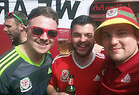 "Pictured: Lewys Prendergast (C) image taken from his open facebook account<br /> Re: This Swansea City fan has been forced to change his name after a Twitter bet spectacularly backfired following the Euro 2016 final on Sunday.<br /> Lewys Prendergast tweeted last night: ""If Eder scores the winner I'll honestly change my name to Robert Earnshaw. Not a f*****g chance.""<br /> The post has been retweeted more than 5,500 times, and now the 21-year-old from Aberdare has been forced to stick to his word - after Eder sealed Portugal's victory over France after replacing Renato Sanchez in the 79th minute of Sunday's final."