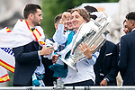 Real Madrid Luka Modric during the celebration of the Thirteen Champions League at Cibeles Fountain in Madrid, Spain. May 27, 2018. (ALTERPHOTOS/Borja B.Hojas)