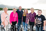 L-R Mary Brennan, Ka Moynihan, Noel Moynihan, Amy Moynihan, Aishling Brennan and Dara Moynihan (all from Killarney) at the Celebration of Light event in the Ross Castle, Killarney last Friday evening.