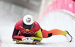 Jacqueline Loelling (GER). Womens skeleton training. Pyeongchang2018 winter Olympics. Alpensia sliding centre. Alpensia. Gangneung. Republic of Korea. 12/02/2018. ~ MANDATORY CREDIT Garry Bowden/SIPPA - NO UNAUTHORISED USE - +44 7837 394578