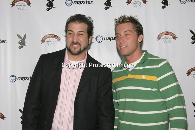 Joey Fatone &amp; Lance Bass<br />