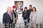 The overall winner of the Mayor's Art Scholarship which provides a contribution to fees at a recognised art school.Norma Harrington, the overall winner of the Mayor's Art Scholarship which provides a contribution to fees at a recognised art school. Pictured from left: Mayor of Kerry Tim Buckley, Norma Harrington (Overall winner), Rebekah Wall (art teacher),  Jonathan Kelliher (Siamsa Tire) and Mayor of Tralee Grace O'Donnell.