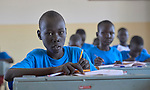 Students in the Loreto Primary School in Rumbek, South Sudan. While focused on educating girls from throughout the war-torn country, the school, run by the Institute for the Blessed Virgin Mary--the Loreto Sisters--of Ireland, also educates children from nearby communities.