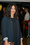 Camelia Jordana during the Opening Ceremony of the Festival International of Film Francophone in Namur in Belgium.  2 october 2015, Namur, Belgium
