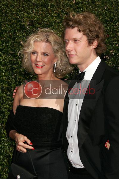 Blythe Danner and son<br /> Arriving at the 2005 Primetime Creative Arts Emmy Awards, Shrine Auditorium, Los Angeles, CA 09-11-05<br /> David Edwards/DailyCeleb.Com 818-249-4998