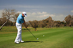 Richard McEvoy (ENG) tees off on the 17th tee during Day 3 Saturday of the Open de Andalucia de Golf at Parador Golf Club Malaga 26th March 2011. (Photo Eoin Clarke/Golffile 2011)
