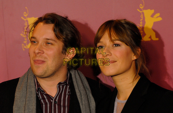 "CHRISTIAN ULMEN & FRANKE POTENTE .Photocall for ""Elementary Particle"" (Elementarteilchen).56th Berlin International Film Festival (Berlinale), Berlin, Germany..February 11th, 2006.Ref: KRA.headshot portrait Franka.www.capitalpictures.com.sales@capitalpictures.com.©Capital Pictures"