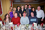 CHRISTMAS: Enjoying the Kerry County Council Environmental Section Christmas party at the grand hotel on friday night were Front Row: Mary Murphy, Ger Curtin, Francie McDonnell and Peter Bradley..Back Row: Ai?ne Kelly, Siobha?n Beasley, Sinead Moriarty, Mairead Moore, Andrew Scanlon, Conal Murphy, Iona McGloinn, Sean O'Donoghue.   Copyright Kerry's Eye 2008