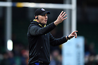 Bath Rugby first team coach Girvan Dempsey. Gallagher Premiership match, between Worcester Warriors and Bath Rugby on January 5, 2019 at Sixways Stadium in Worcester, England. Photo by: Patrick Khachfe / Onside Images