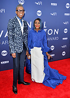 LOS ANGELES, USA. June 07, 2019: Cicely Tyson & B Michael at the AFI Life Achievement Award Gala.<br /> Picture: Paul Smith/Featureflash