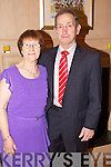 Rita and John O'Sullivan Killerisk enjoying the Lee Strand Social on Saturday night held in Ballygarry House Hotel and Spa..