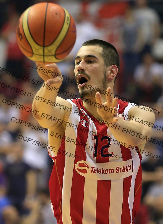 Kosarka Kosarkaska Liga Srbije season 2014-2015<br /> Crvena Zvezda v Partizan<br /> Nikola Kalinic<br /> Belgrade, 05.17.2015.<br /> foto: Srdjan Stevanovic/Starsportphoto &copy;