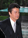 September 2, 2011, Tokyo, Japan - Newly-appointed Foreign Minister Koichiro Genba arrives for an attestation ceremony before Emperor Akihito at the Imperial Palace in Tokyo on Friday, September 2, 2011. (Photo by Natsuki Sakai/AFLO) [3615] -mis-