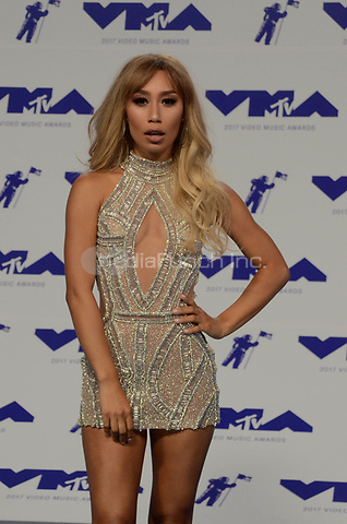 INGLEWOOD, CA - AUGUST 27: Eva Gutowski at the 2017 MTV Video Music Awards At The Forum in Inglewood, California on August 27, 2017. Credit: David Edwards/MediaPunch