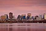 Sunset on the Charles River, Boston, MA