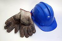 Still-life. Sicurezza sul lavoro e sicurezza per i lavoratori. .Work safety e security for workers..