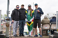 Fans stoic despite the inclement weather during South Africa vs West Indies, ICC World Cup Cricket at the Hampshire Bowl on 10th June 2019
