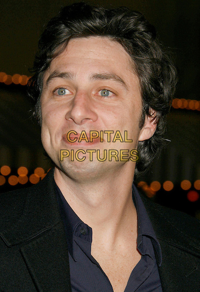 "ZACH BRAFF.""Babel"" Special Presentation held at Mann Village Theater, Westwood, California, USA..November 5th, 2006.Ref: ADM/RE.headshot portrait.www.capitalpictures.com.sales@capitalpictures.com.©Russ Elliot/AdMedia/Capital Pictures. *** Local Caption *** ."