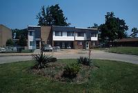 1992 May 01..Assisted Housing..N. Wellington Place.Wellington Oaks Exteriors.Curie Court..CAPTION...NEG#.NRHA#..HOUSING:WelOak 1 1:12
