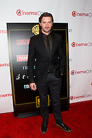 LAS VEGAS, NV - March 27: Richard Armitage pictured arriving at Warner Broters Presentation at Cinemacon 2014 at Caesars Palace in Las Vegas, NV on March 27, 2014. © Kabik/ Starlitepics