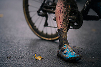 blood&mud battle scar<br /> <br /> men's race<br /> Soudal Jaarmarktcross Niel 2018 (BEL)