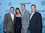 WASHINGTON, DC - JUNE 4: Writer Hank Steinberg and actors Rhona Mitra and Eric Dane and executive producer Steven Kane attends The Last Ship premiere screening, a partnership between TNT and the U.S. Navy on June 4, 2014 in Washington, D.C. Photo Credit: Morris Melvin / Retna Ltd.
