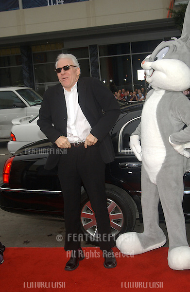 Actor STEVE MARTIN at the world premiere, in Hollywood, of his new movie Looney Tunes Back in Action..November 9, 2003