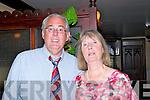60th Birthday: Brid Horgan, Ballybunion celebrating her 60th birthday with her husband Tom at McMunns Bar & Restaurant, Ballybunion on Saturday night last.